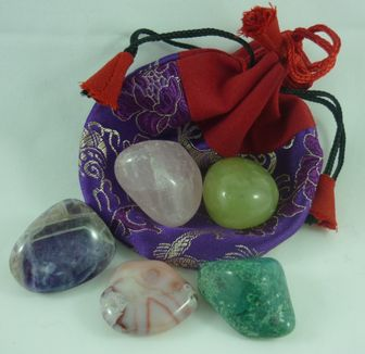 Crystal Pouches  Love
