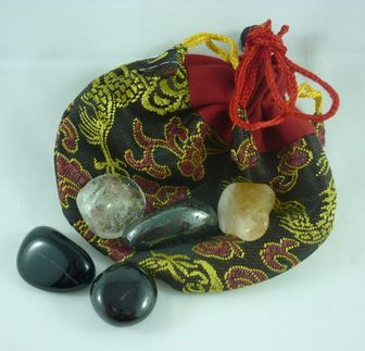 Crystal Pouches  Protection from Negativity