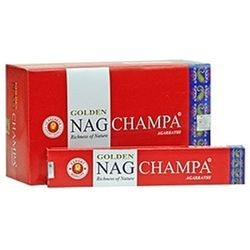 Golden Nag Incense - Champa
