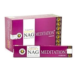 Golden Nag Incense - Meditation