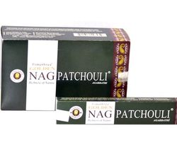 Golden Nag Incense - Patchouli