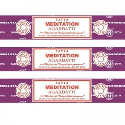 Satya Incense - Meditation - Box